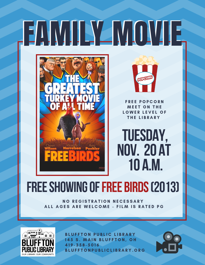 Free Family Movie Showing of
